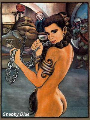 jabba hutt leia the licks Ookami san & her seven companions