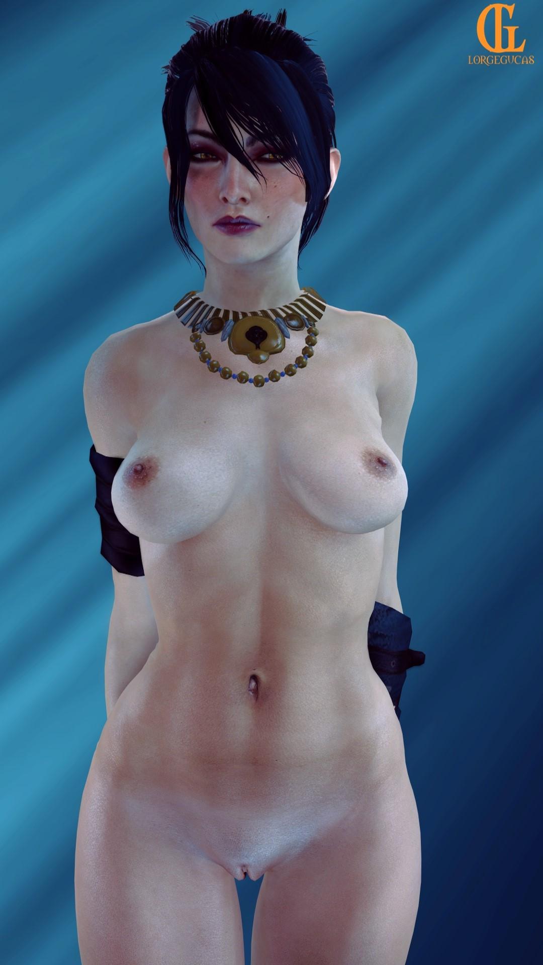hawke female inquisition age dragon Zelda breath of the wild nude mod