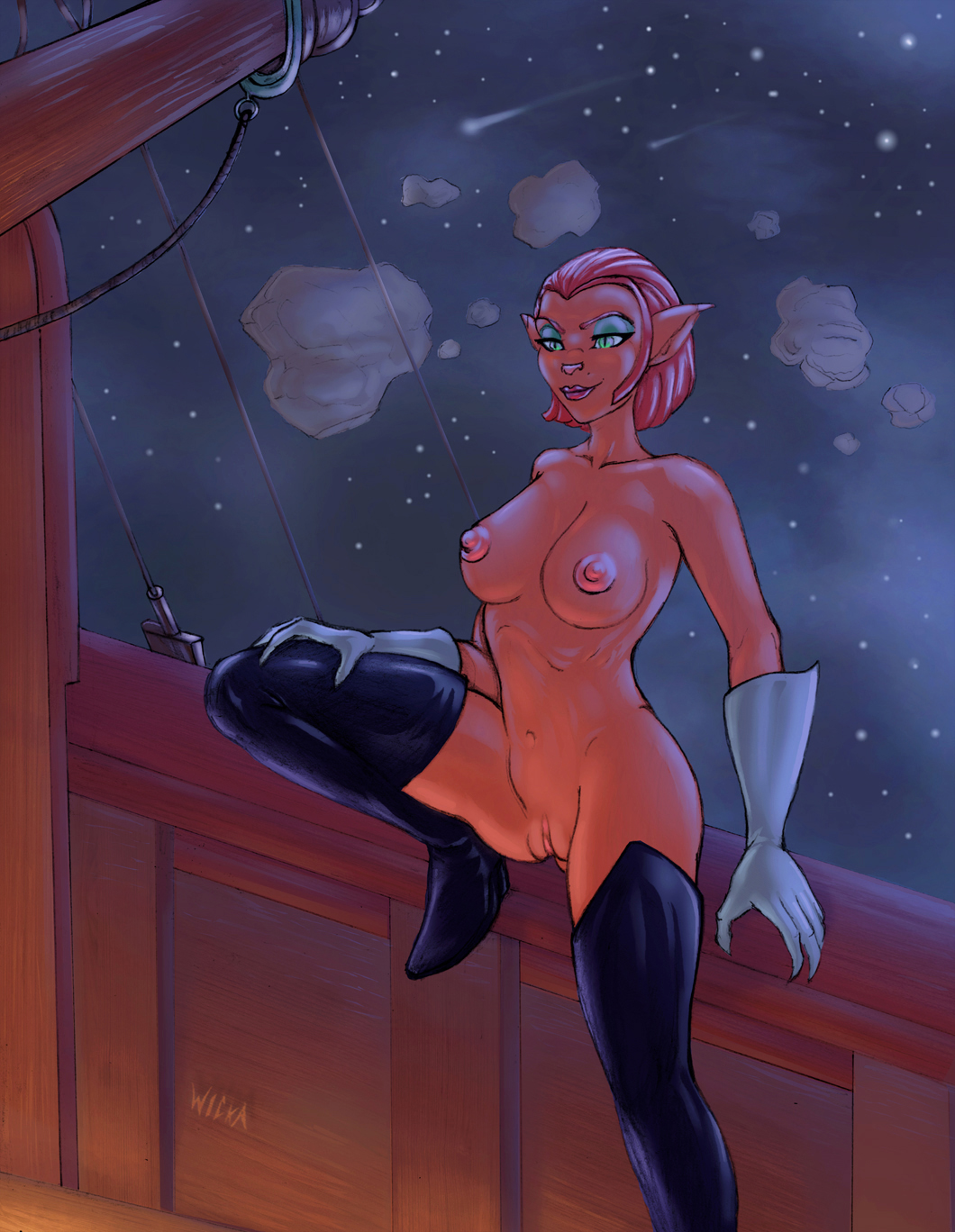 treasure amelia hentai planet captain Male gerudo breath of the wild