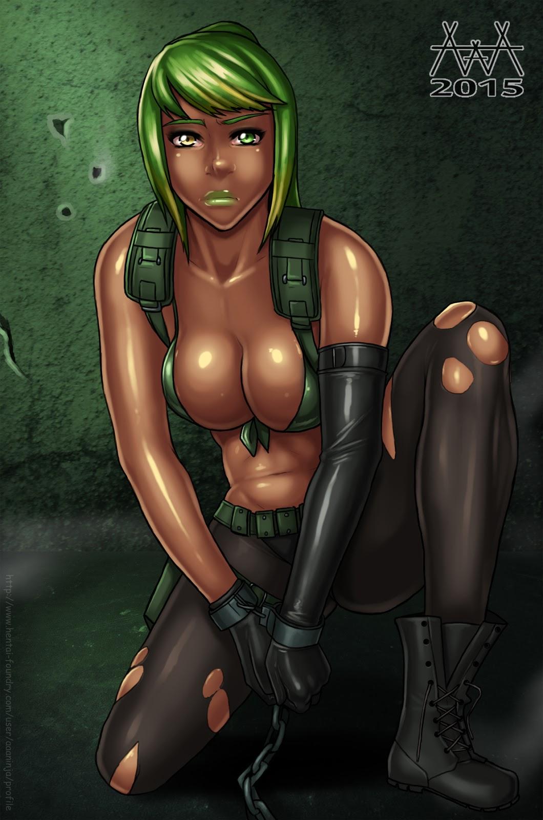 metal quiet gear Fnaf foxy and mangle porn