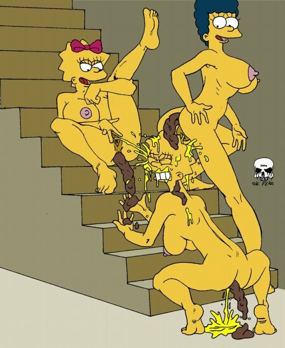 homer simpson porn and lisa My name is doof and you'll do what i say whoop whoop