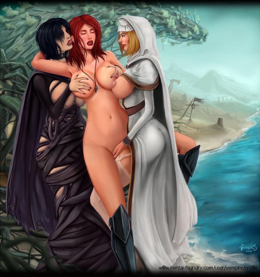 3 maiden dark souls fire Female frisk x female chara