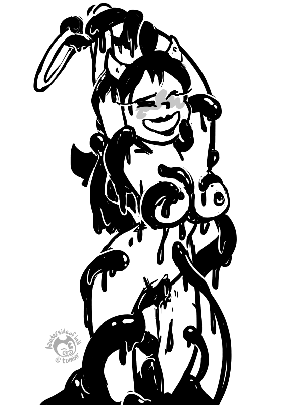 alice hentai bendy the ink and machine Under(her)tail part 2