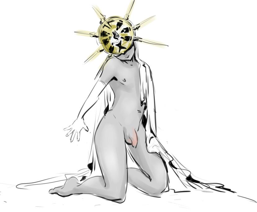 souls woman 3 painting dark Isekai no seikishi monogatari nude