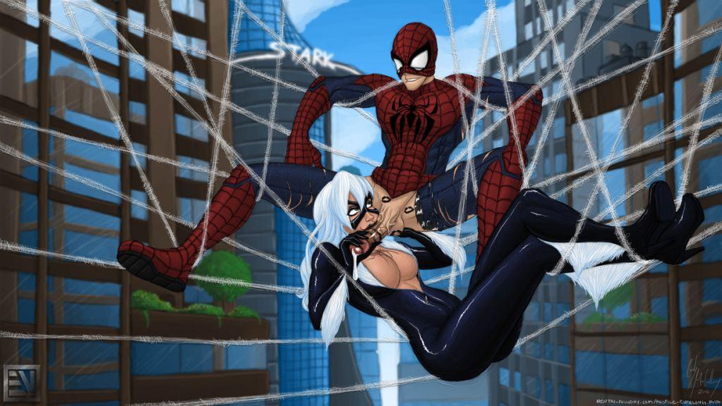 web shadows spider carnage of man Maken-ki! two
