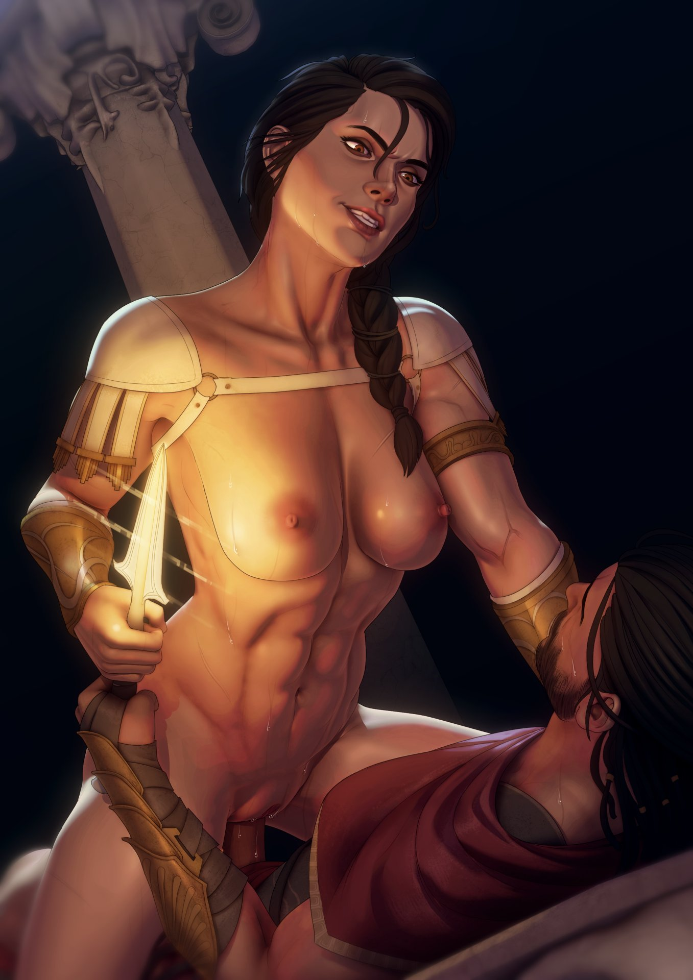 assassins odyssey creed Kono subarashii sekai ni shukufuku wo naked