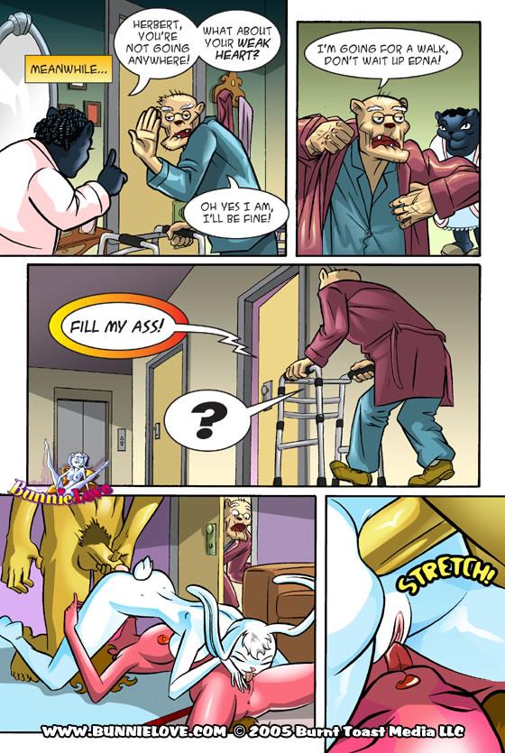 bunny is old brawler how Hachinan tte sore wa nai deshou