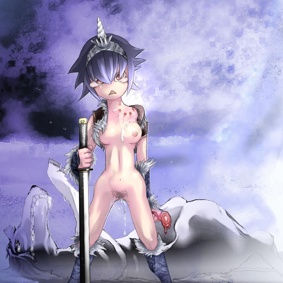 x 44 hunter hunter number Ryouko makimura from tokubetsu byoutou