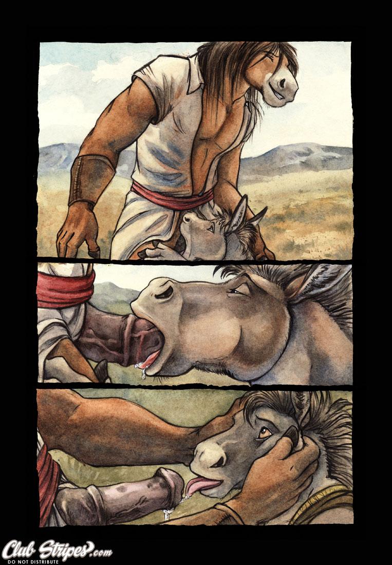 horse gay with a sex Nande koko ni sensei ga?