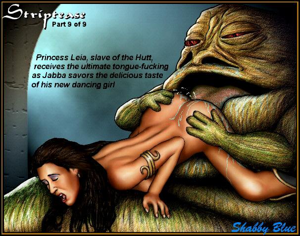leia jabba licks hutt the Dark iron dwarf