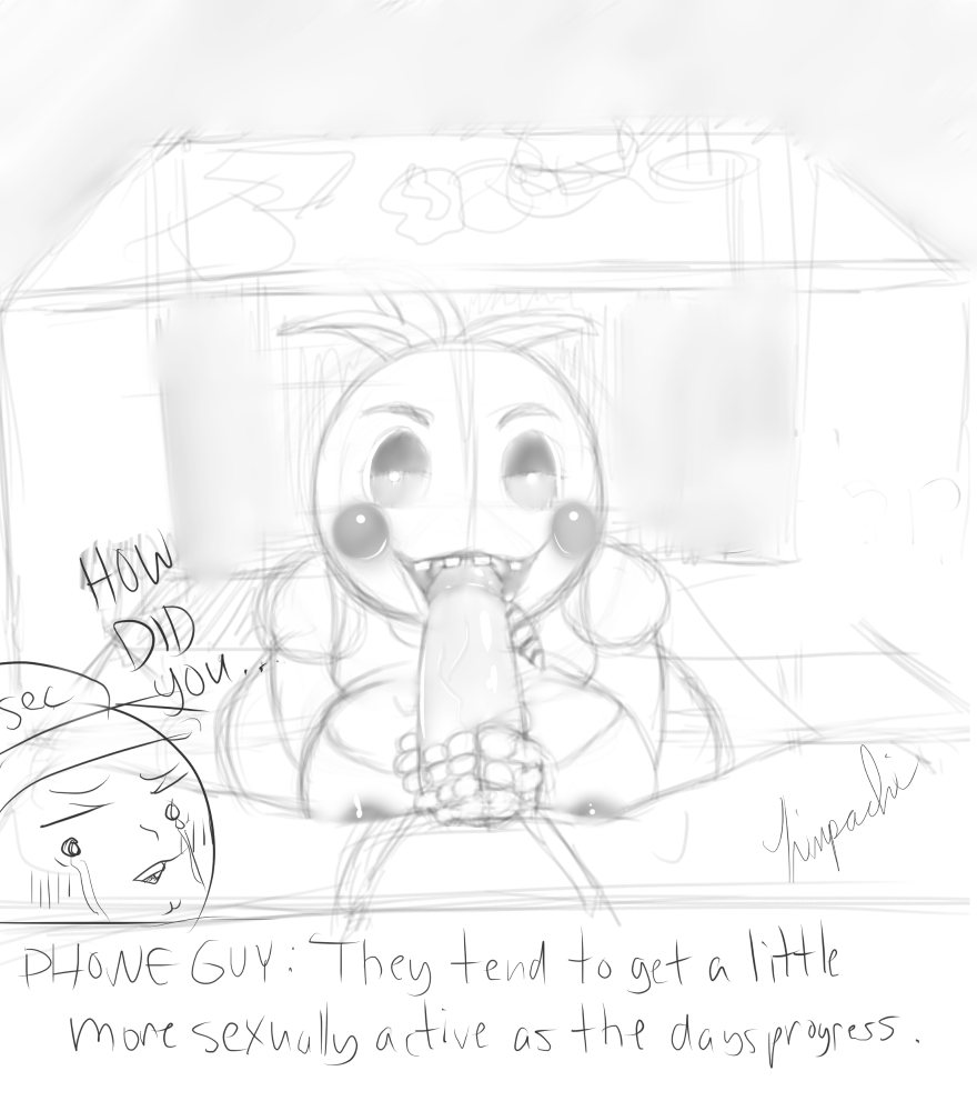 five nights freddy's at chica 1 Lunette from the big comfy couch