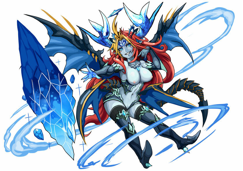 and dragons puzzle Panty and stocking with gaterbelt