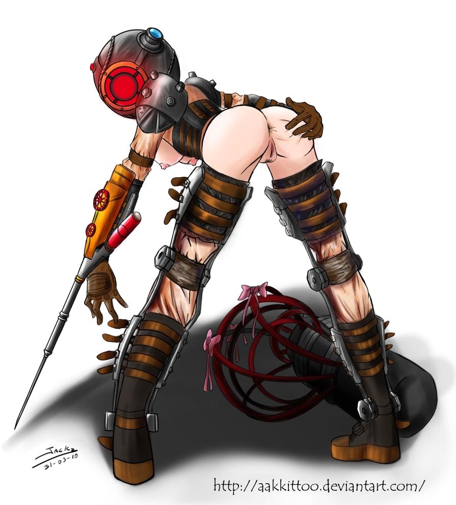 bioshock sister big Johnny joestar x hot pants