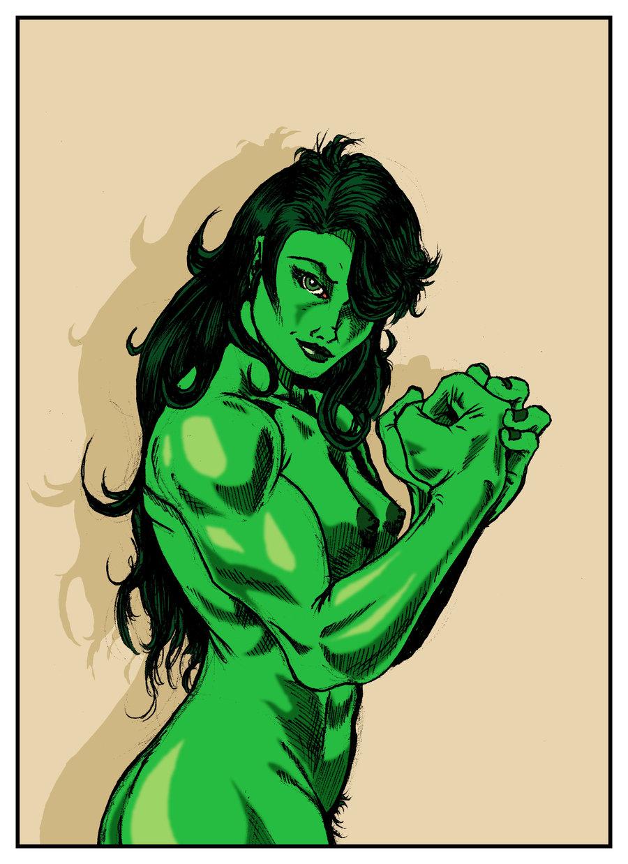 porn comic she-hulk Sheath and knife porn comic