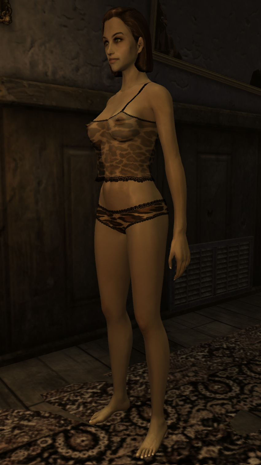 mod nude fallout cait 4 From straight as to xxx