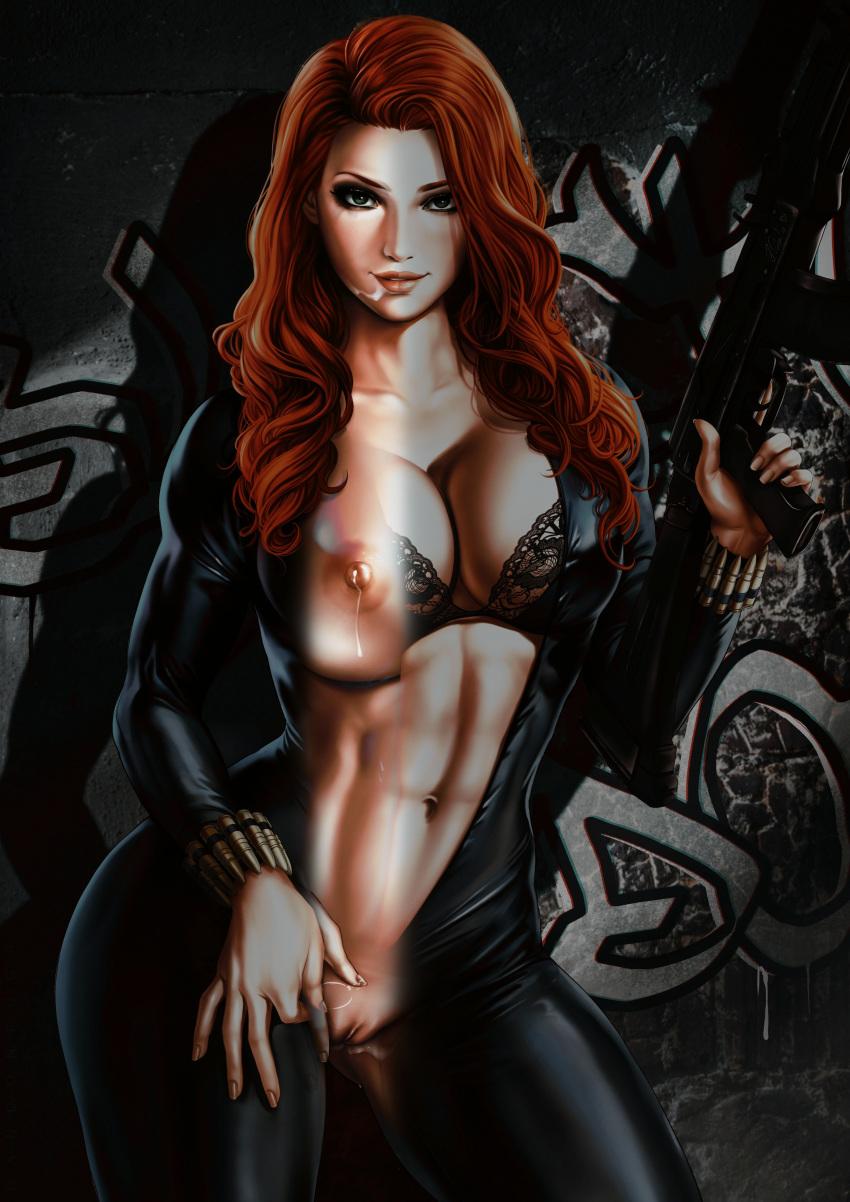 and spiderman black porn widow Skunk fu skunk and fox