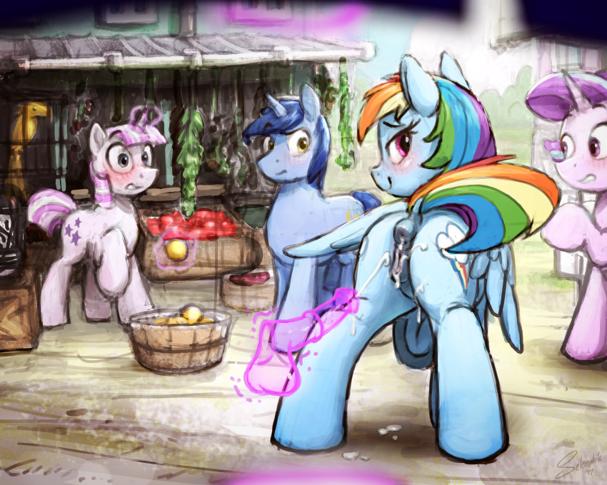 rainbow and spike mlp dash fanfiction Morinth in mass effect 3