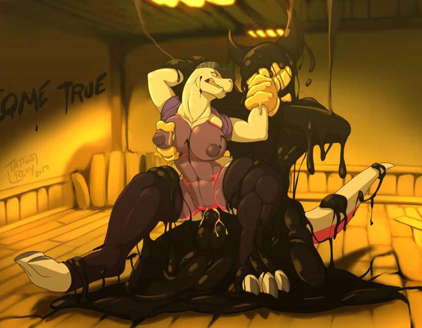 alice machine and bendy ink bendy x the What is a femboy?