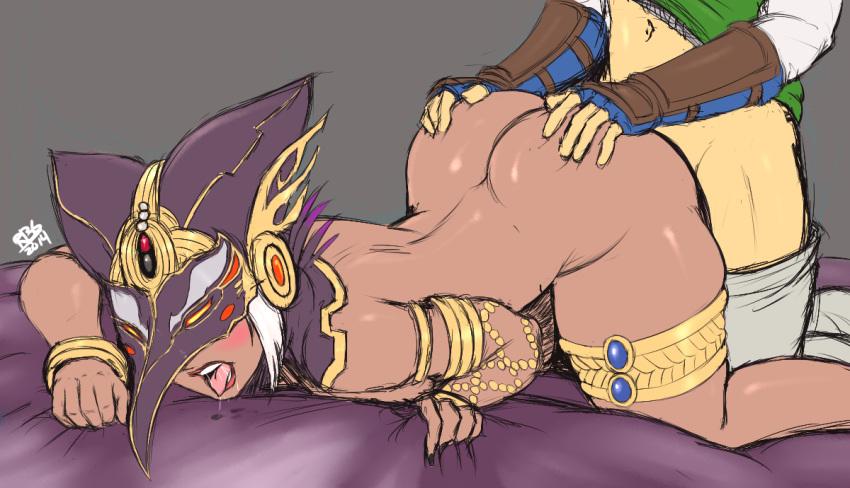 the zelda din of legend Akai riot - princess peach