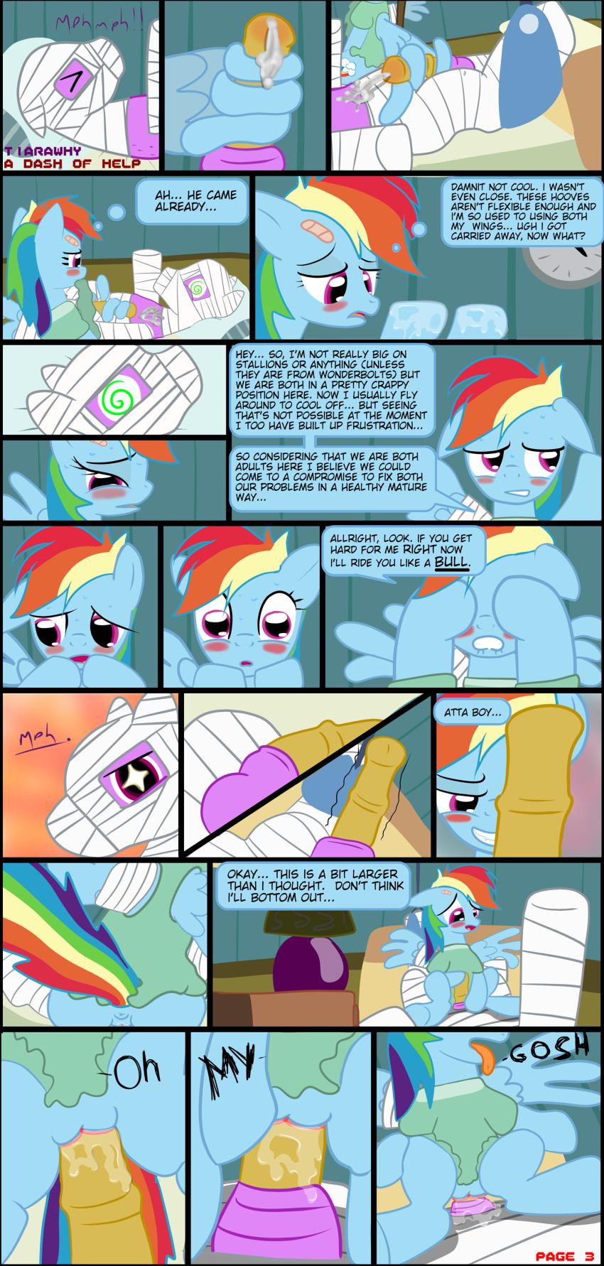 little my rainbow blitz pony dash and rainbow Monomon the teacher hollow knight