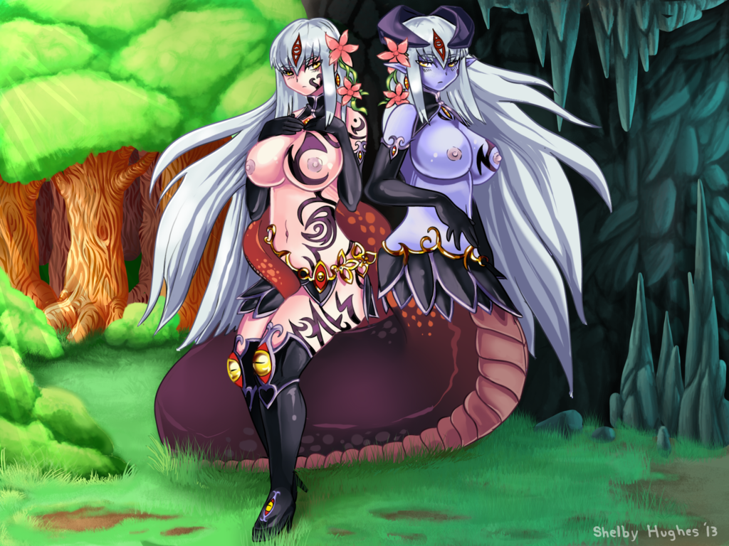 girl monster quest tiny lamia Trials in tainted space frost wyvern