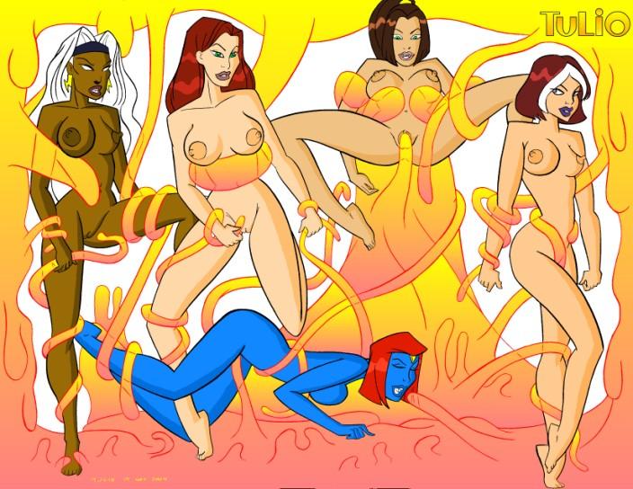 x evolution porn comics men Starfire has sex with beast boy