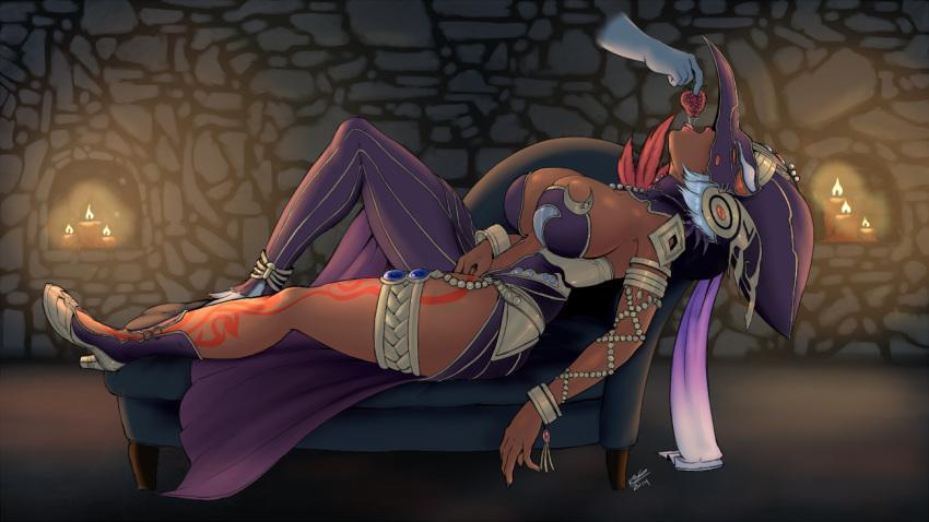 fi zelda legend porn of Breath of the wild mina